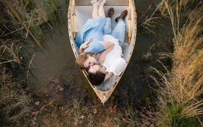 Jennifer + Jacob | Row Boat Engagement