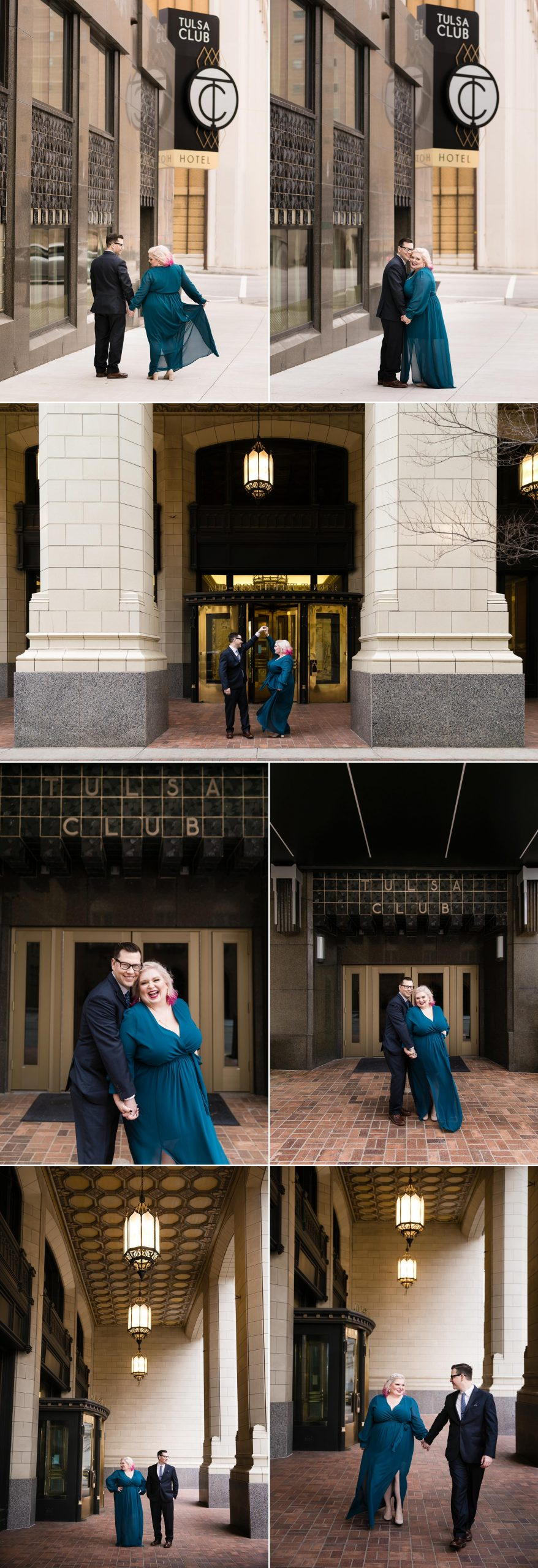 Downtown Tulsa Engagement Session